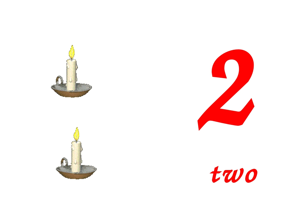 2 two