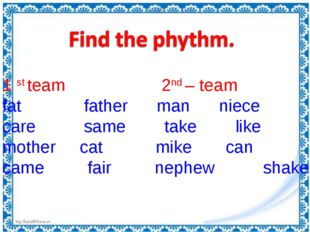 1 st team 2nd – team fat father man niece care same take like mother cat mike