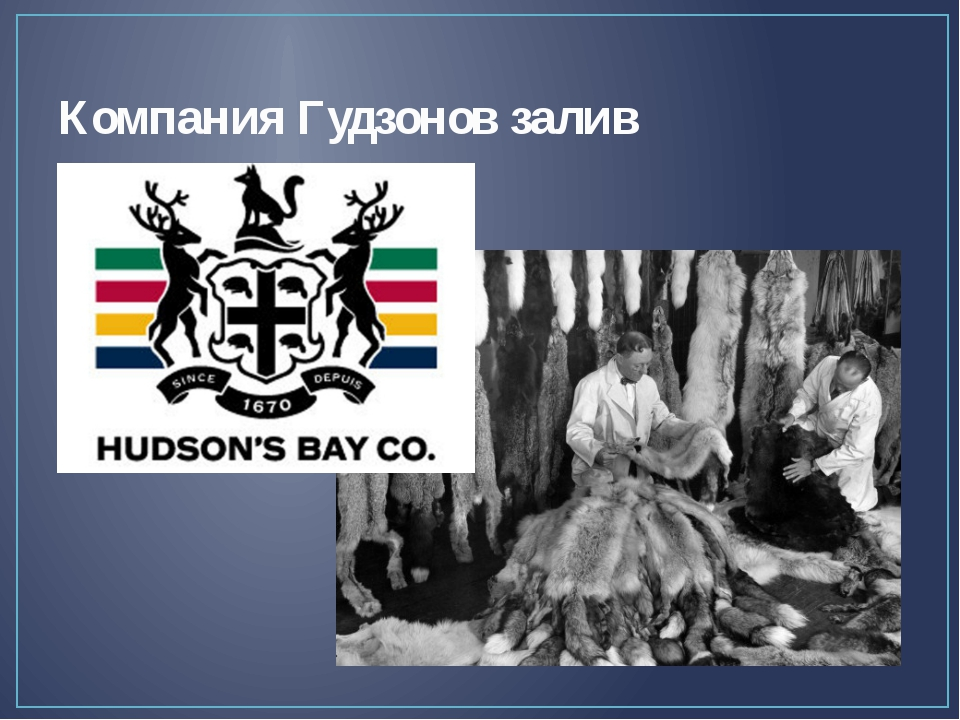 Компания Гудзонов залив Тем временем Англией в семидесятом году семнадцатого...