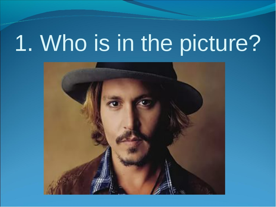 1. Who is in the picture?