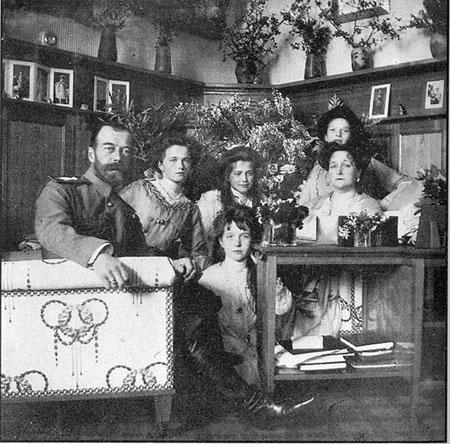 Император Николай II с семьей. В Крыму. 1914.г.