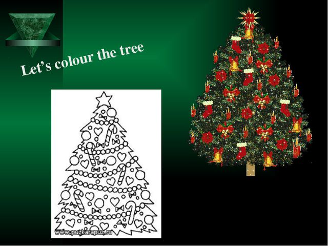 Let's colour the tree