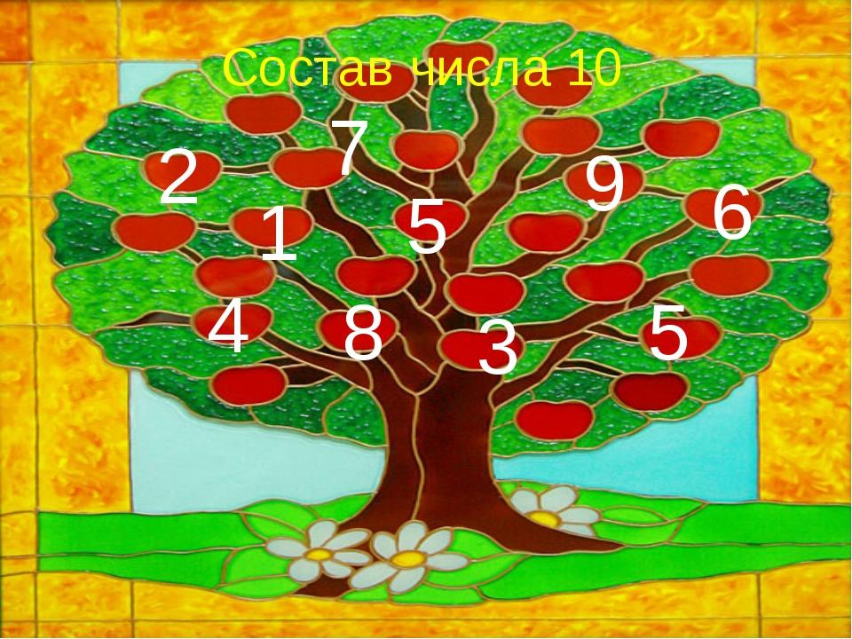 9 Состав числа 10 1 5 5 8 2 3 7 4 6