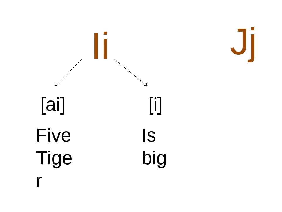 [ai] [i] Five Tiger Is big Ii Jj