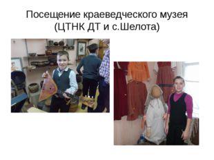 Посещение краеведческого музея (ЦТНК ДТ и с.Шелота)
