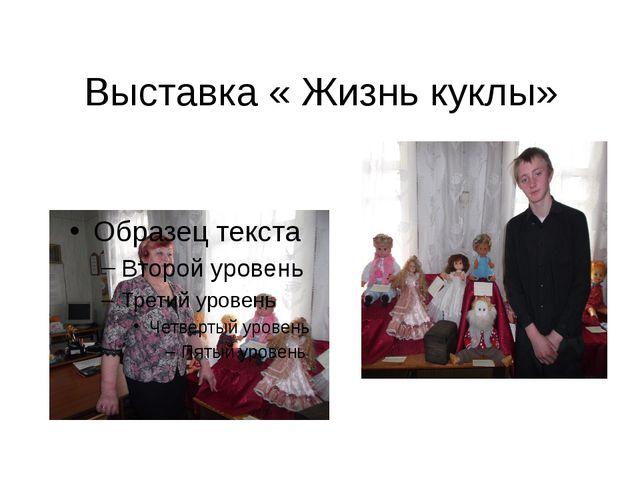 Выставка « Жизнь куклы»