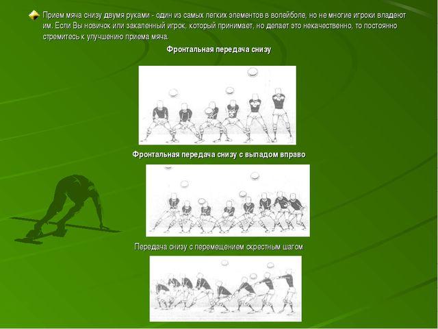 Прием мяча снизу двумя руками - один из самых легких элементов в волейболе, н...