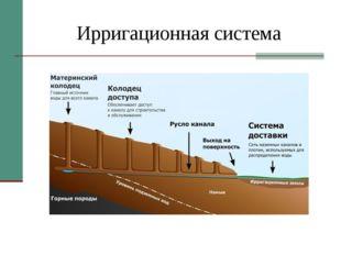 Ирригационная система