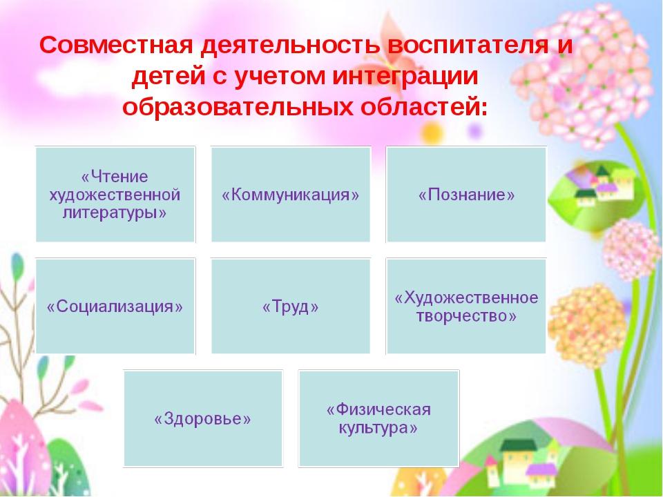 Вечканова (Фостовец) С.Г. Совместная деятельность воспитателя и детей с учето...