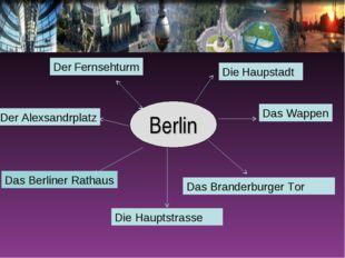 Berlin Das Branderburger Tor Die Hauptstrasse Das Berliner Rathaus Der Fernse
