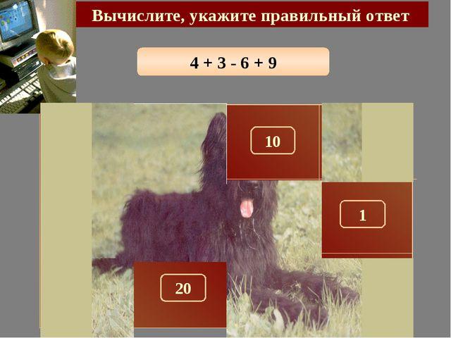 4 + 3 - 6 + 9 Вычислите, укажите правильный ответ 10 150 300 290 100 180 1 28...