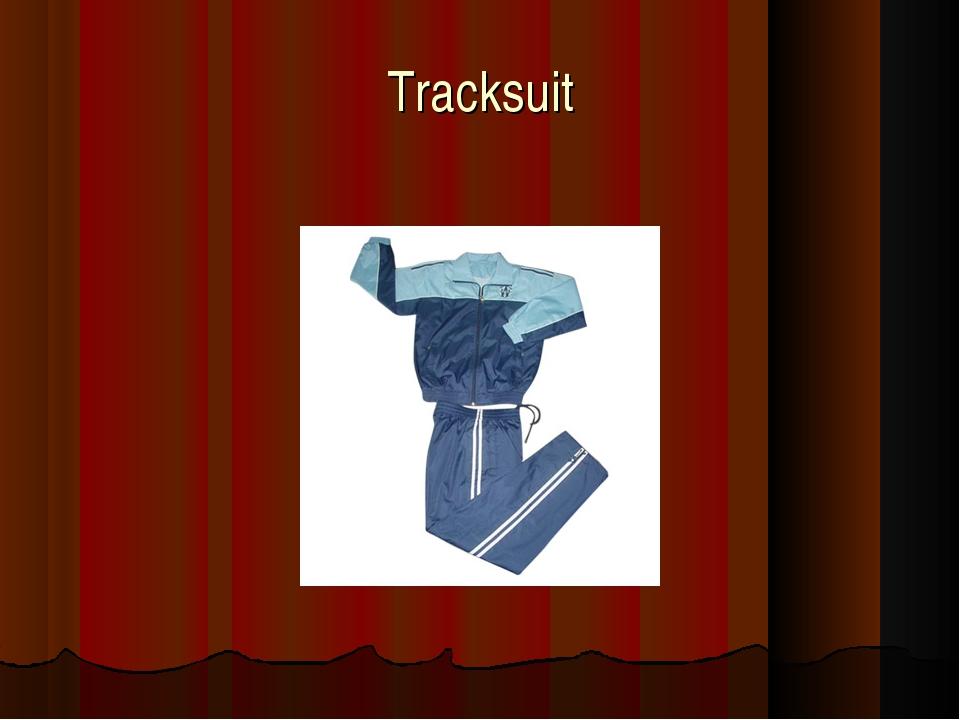 Tracksuit