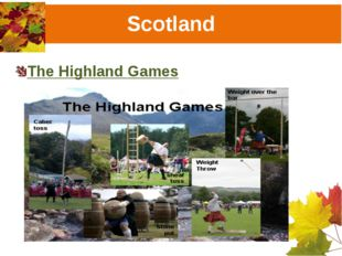 Scotland The Highland Games