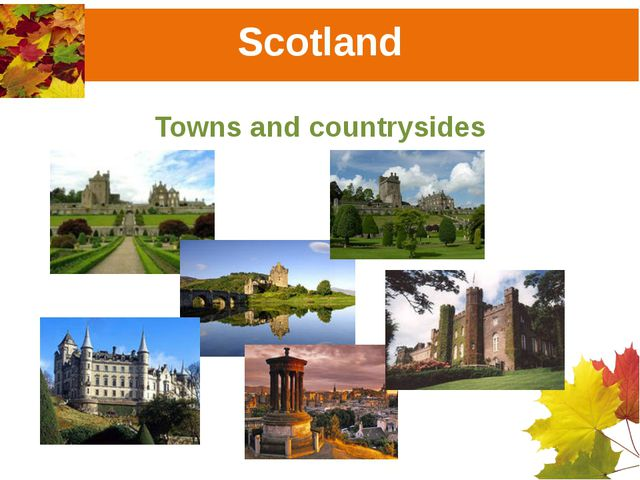 Scotland Towns and countrysides