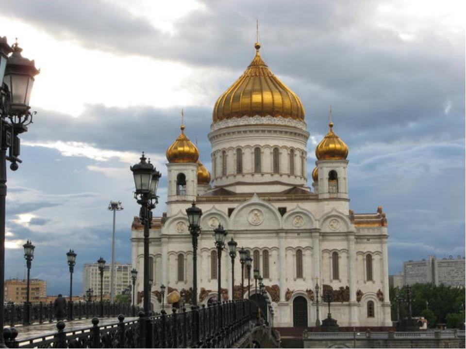 Храм Христа Спасителя 1931 год. В Москве взорван храм Христа Спасителя. Здани...