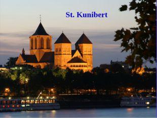St. Kunibert