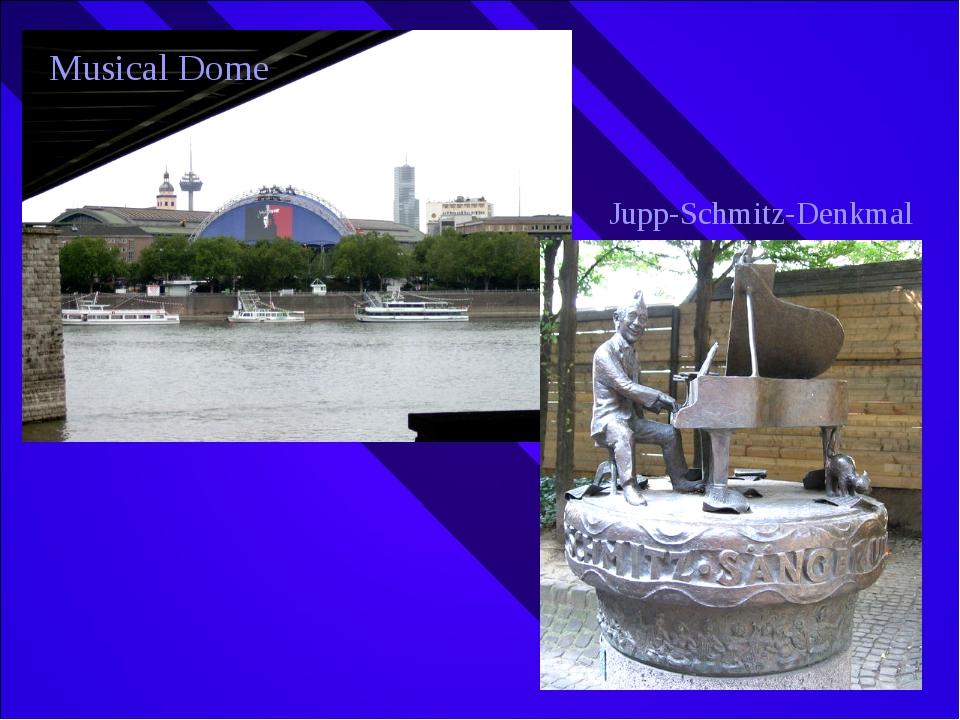 Musical Dome Jupp-Schmitz-Denkmal