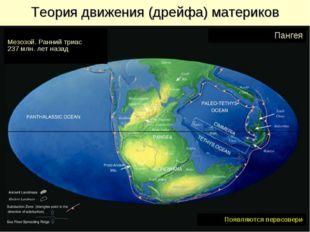 Теория движения (дрейфа) материков