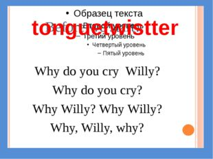 tonguetwistter