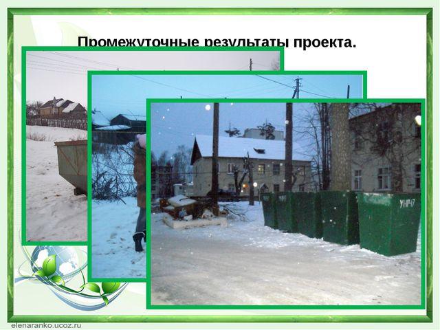 Ожидаемые результаты проекта -Чистый город и прилегающая к нему территория....