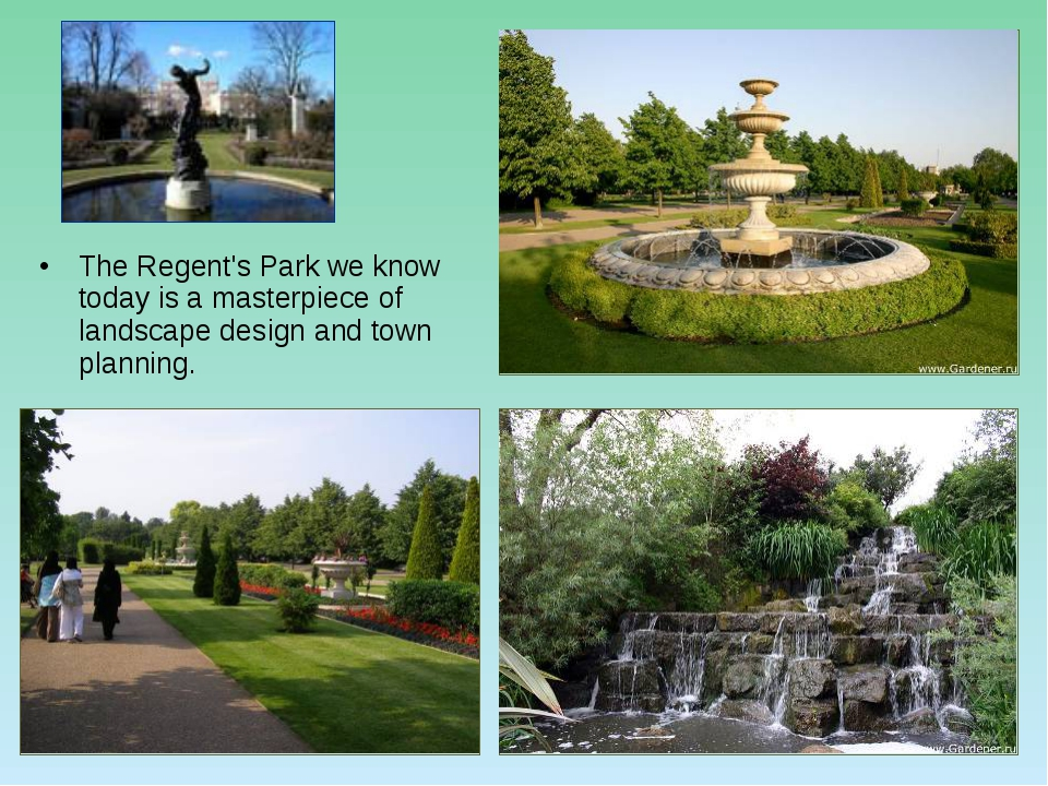 The Regent's Park we know today is a masterpiece of landscape design and town...