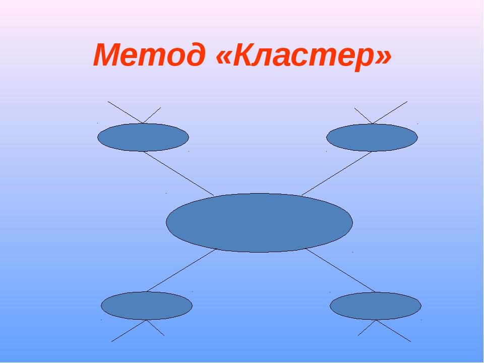 Метод «Кластер»