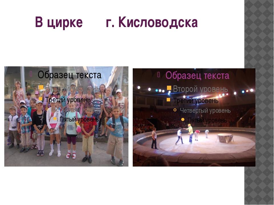 В цирке г. Кисловодска