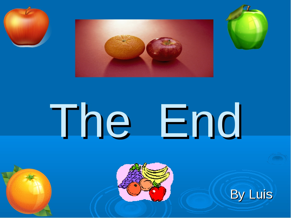 The End By Luis