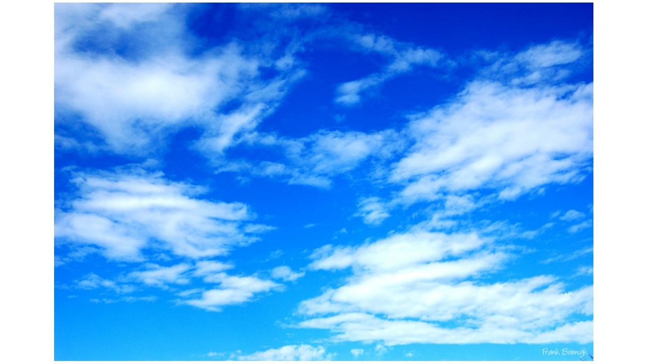 Разминка. О чем ты думаешь, когда смотришь на небо? Какие мысли приходят тебе...