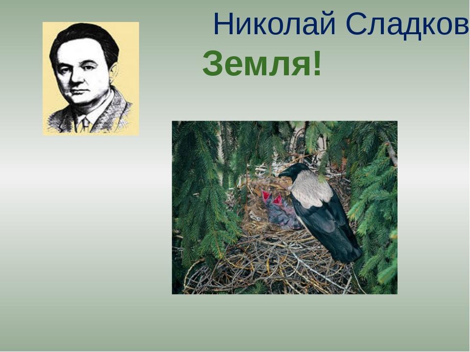 Николай Сладков Земля!