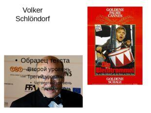 Volker Schlöndorf