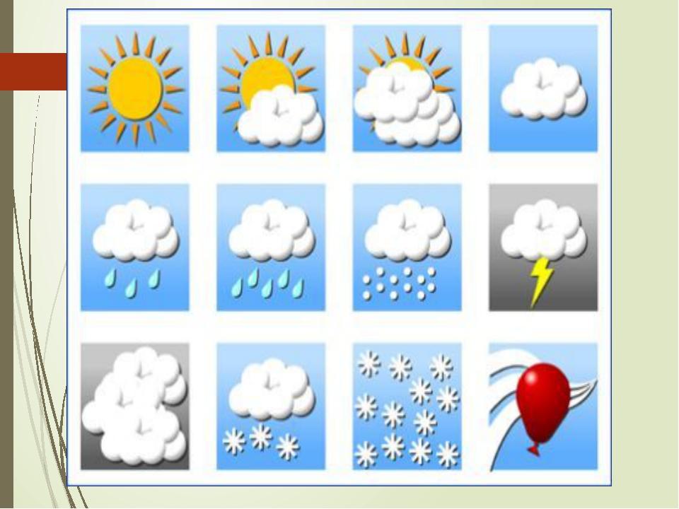 старую дидактические картинки о погоде приятная девушкаимеет подход