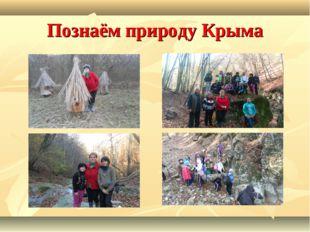 Познаём природу Крыма