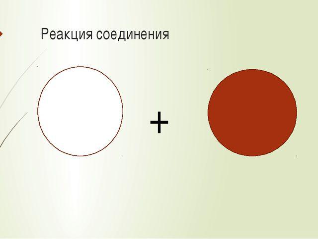 Реакция соединения +