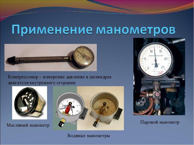 Компрессомер – измерение давление в цилиндрах двигателя внутреннего сгорания...