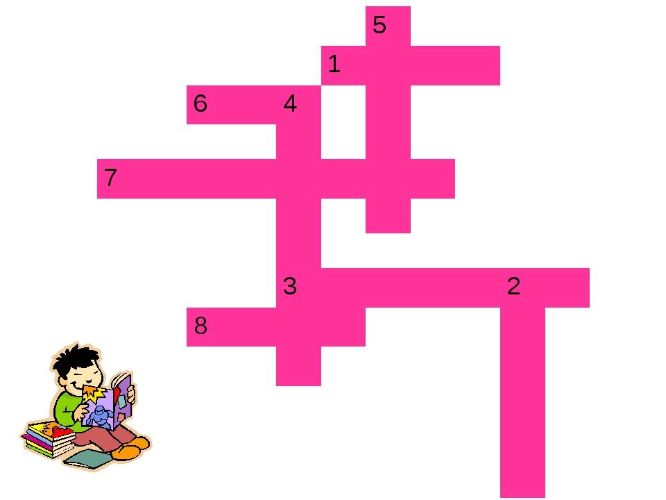 Домашнее задание Задача в тетради. Подготовить кроссворд из 5 вопросов по пр...