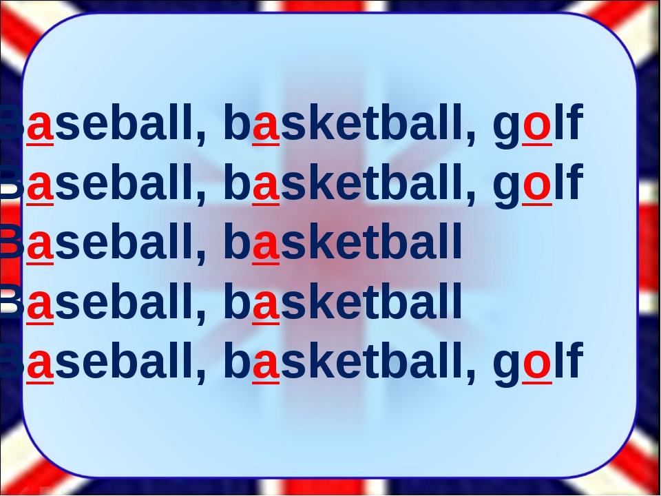 Baseball, basketball, golf Baseball, basketball, golf Baseball, basketball Ba...