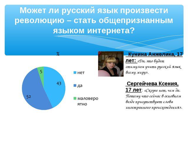 Может ли русский язык произвести революцию – стать общепризнанным языком инте...