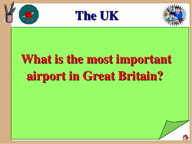 The UK What is the most important airport in Great Britain?