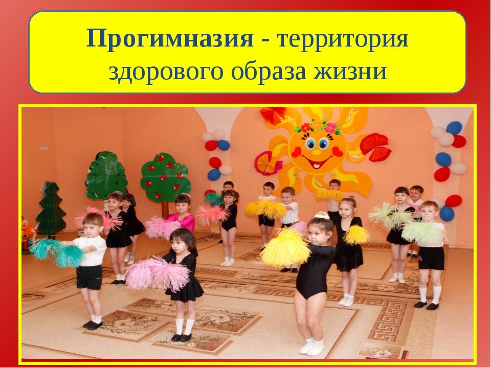 Прогимназия - территория здорового образа жизни