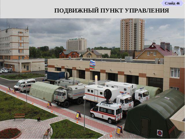 ПОДВИЖНЫЙ ПУНКТ УПРАВЛЕНИЯ Слайд 46