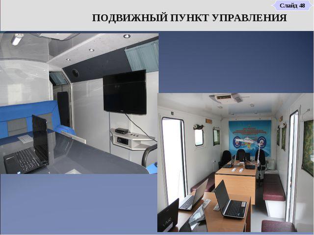 ПОДВИЖНЫЙ ПУНКТ УПРАВЛЕНИЯ Слайд 48