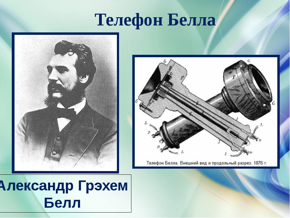 Телефон Белла Александр Грэхем Белл