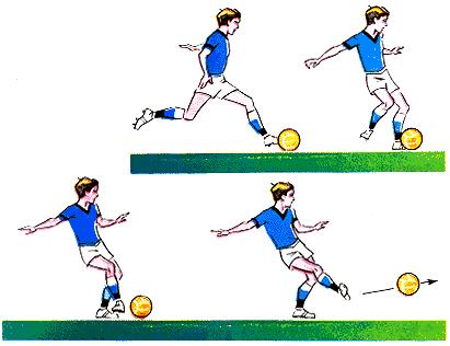 Как научится футболу в домашних условиях 559