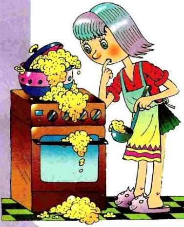 Розе Т.В. - Большой фразеологический словарь для детей. ЗАВАРИТЬ КАШУ, РАСХЛЕБЫВАТЬ КАШУ