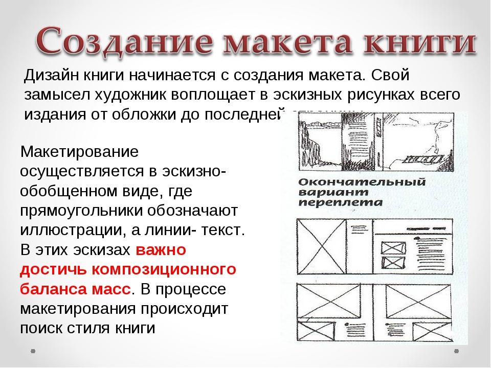 Как сделать книгу макеты