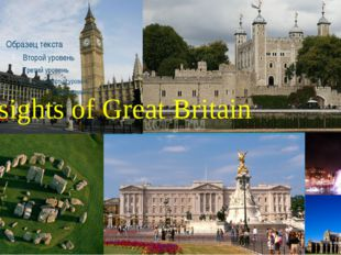 The sights of Great Britain