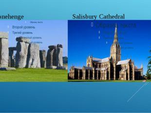 Stonehenge Salisbury Cathedral