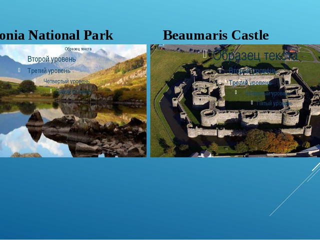 Snowdonia National Park Beaumaris Castle