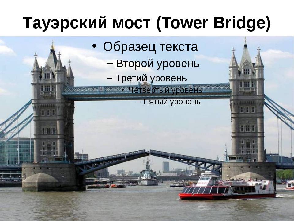 Тауэрский мост (Tower Bridge)